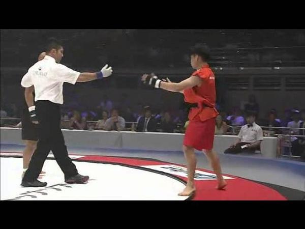 Japanese Boxing Champion vs Korean Taekwondo Fighter (Kazuhisa Watanabe vs Jung Chang Hyun)