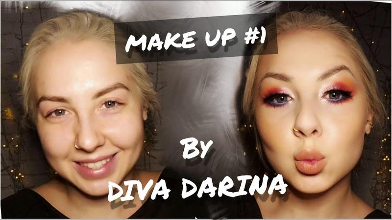 MAKE UP TUTORIAL 1 | DIVA DARINA | STAGE MAKE UP | BellyDance Make up