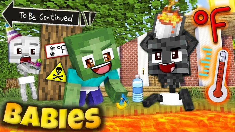 MONSTER SCHOOL WITHER CHEATER FAMILY 2 Epic monsters FUNNY MINECRAFT ANIMATION