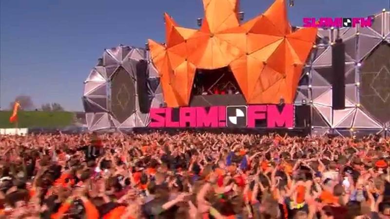 Bassjackers Full live set SLAM Koningsdag 2015