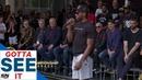 GOTTA SEE IT: Kawhi Leonard Does Signature Laugh During Speech At Raptors Parade!