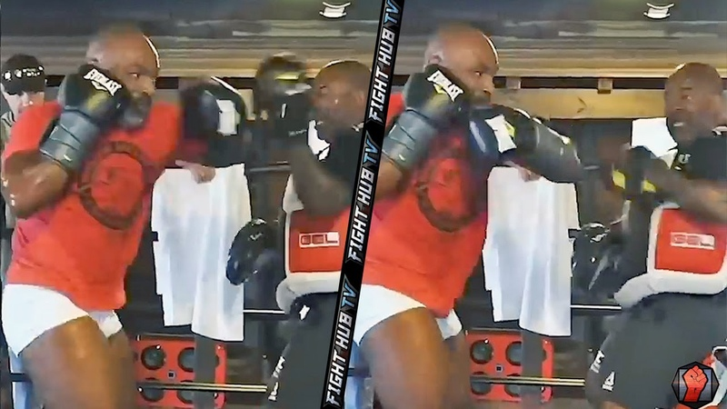 MIKE TYSON'S TRAINER LEAKS NEW TYSON TRAINING FOOTAGE VINTAGE MOVEMENT POWER ON FULL DISPLAY