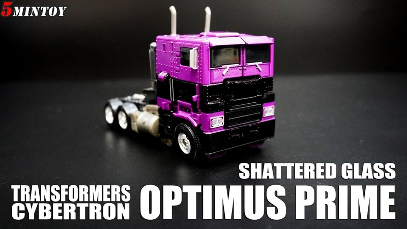 SHATTERED GLASS Optimus Prime Transformers Bumblebee Movie シャッタードグラス オプティマス プライム 鏡像 科博文