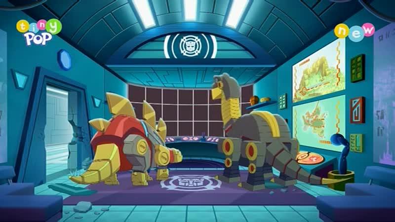 Rescue Bots Academy s02e43 Dino mite Duo