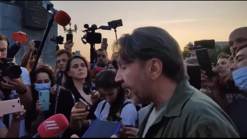 Сергей Шнуров о протестующих в Хабаровске Понятно что здесь кто то наверняка за деньги есть такие люди но это не все