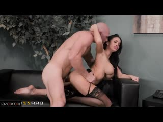 Johnny Sins & Victoria June [ Big boobs &  In the office &  With talk / Cunnilingus, Cum on face, Between boobs, Shaved, Rid