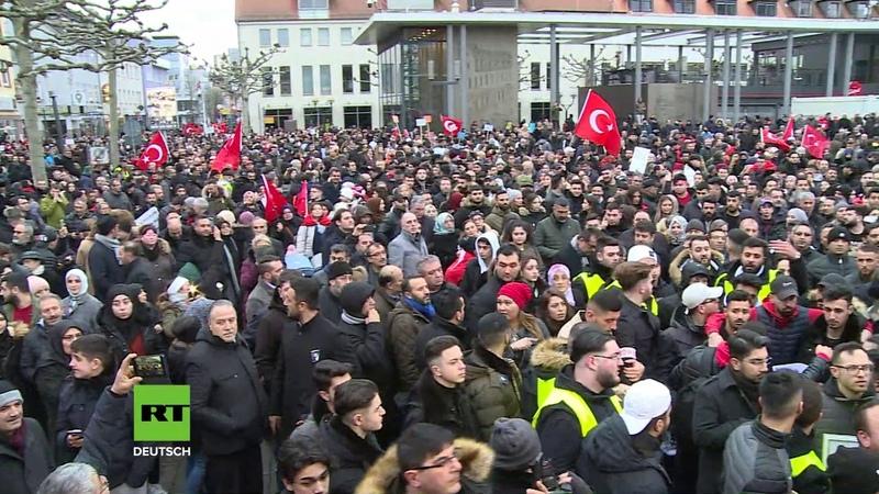 Hanau Tausende gedenken der Getöteten Gemeinsam gegen Terror und antimuslimischen Rassismus
