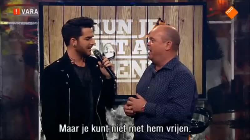 2015 10 11 kun je het al zien Netherlands Adam's segment with Intro and GT with translation