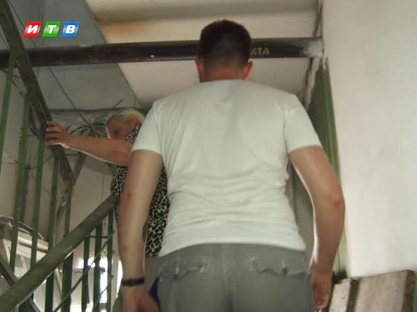 В Комсомольском затопило квартиру многоэтажки