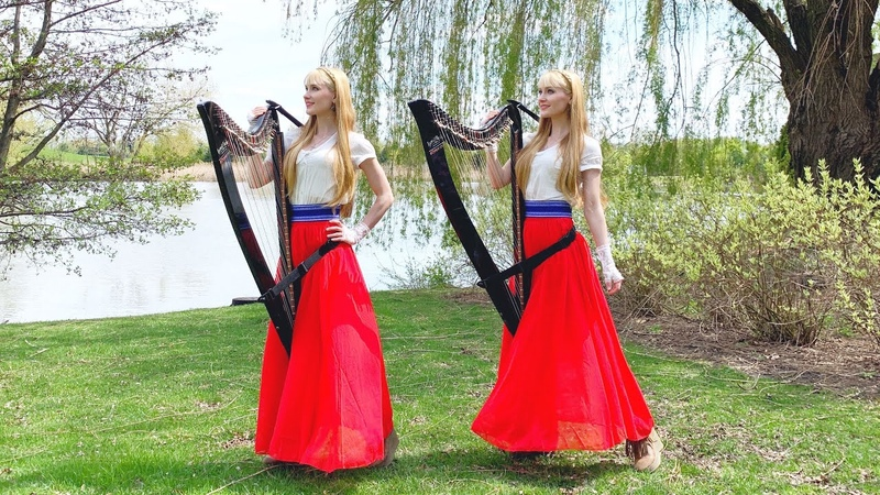 Battle Hymn of the Republic Mine Eyes Have Seen the Glory Harp Twins Camille and Kennerly