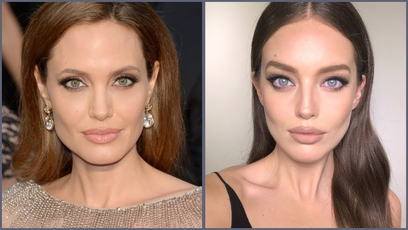 Angelina Jolie Makeup Tutorial! | Emily DiDonato Erin Parsons