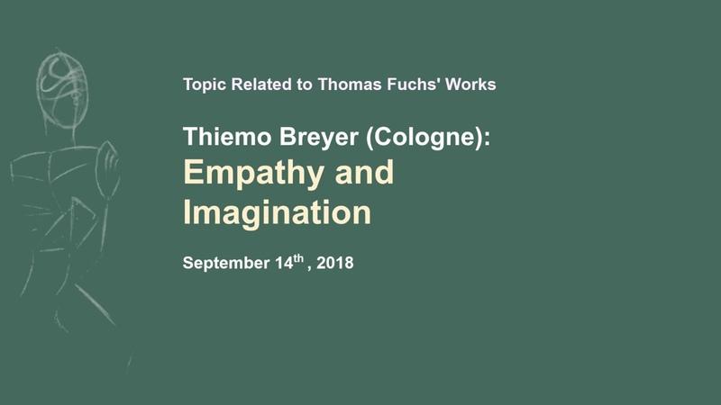 Thiemo Breyer Empathy and Imagination