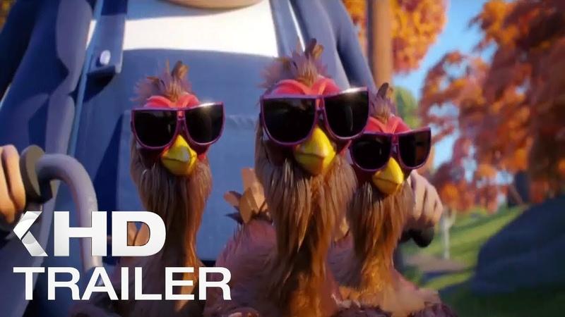 Куриный забег - русский трейлер