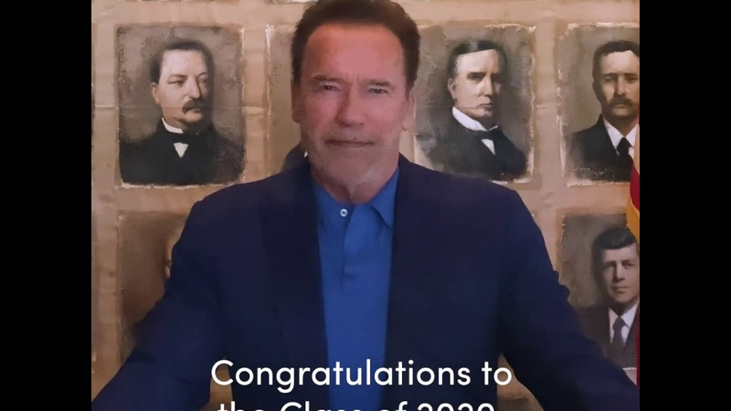 Arnold Schwarzenegger's 2020 Snapchat Commencement Address on Overcoming Obstacles