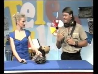 Змея кусает Стива Ирвина в прямом эфире детского телешоу, 1991 год (VHS Video)
