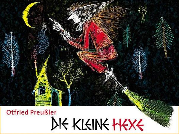 """""""die kleine hexe"""" ist ein hörspiel auf deutsch"""