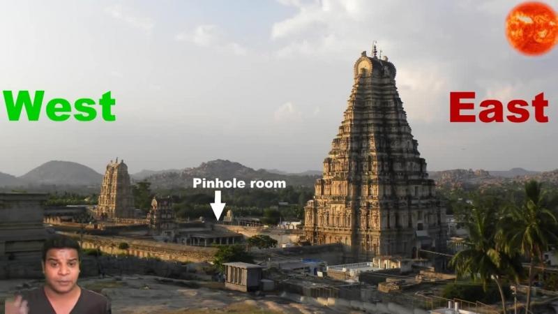 Секрет перевёрнутой башни Храм Вирупакши Камера обскура