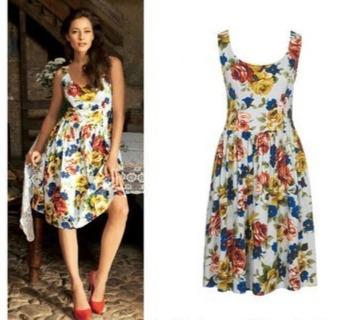 Выкройки платьев на лето - все подробности в описании к фото