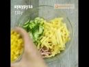 Три самых быстрых и вкусных салата с кукурузой! nhb cfvs[ ,scnhs[ b drecys[ cfkfnf c rerehepjq!