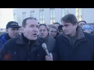 6 кадров - репортаж с площади, где ничего не произошло