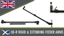 Coarse Match Fishing TV 3D R Feeder Arms