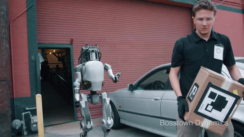 Boston Dynamics New Robots Now Fight Back угар красивая прикол ахаха не секс порно сосет минет вписка мжм жмж