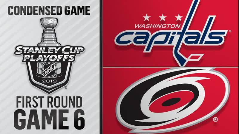 Washington Capitals vs Carolina Hurricanes R1, Gm6 apr 22, 2019 HIGHLIGHTS HD