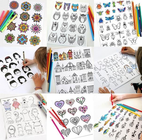 Как развить креативность и фантазию Поделимся с Вами интересными идеями для творчества. Так хочется покреативить, но не всегда понятно с чего начинать. Американская художница и мама Джейми Экинс