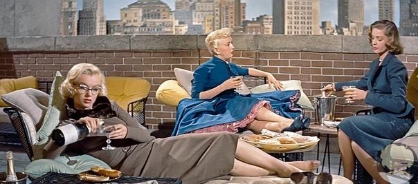 Самый стильный фильм Мэрилин Монро Комедия Как выйти замуж за миллионера вышла в 1953 году. И можно сказать, что это практически Секс в большом городе времен 1950-х.Судите сами - Нью-Йорк,