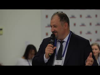 Выступление Павла Безручко на панельной дискуссии Будущее города. Люди в новой городской среде