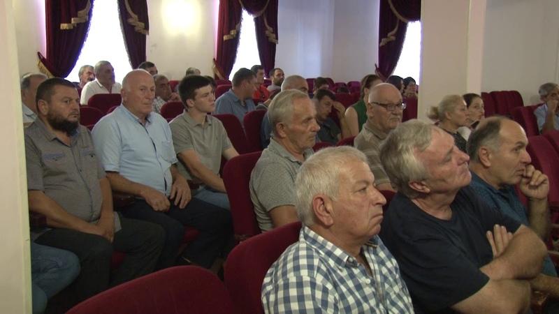 Встреча кандидата в призиденты Дзапшба Л.Ю.в г. Гагра