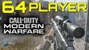 Modern Warfare 64 Player is Fun PS4 Pro Gameplay