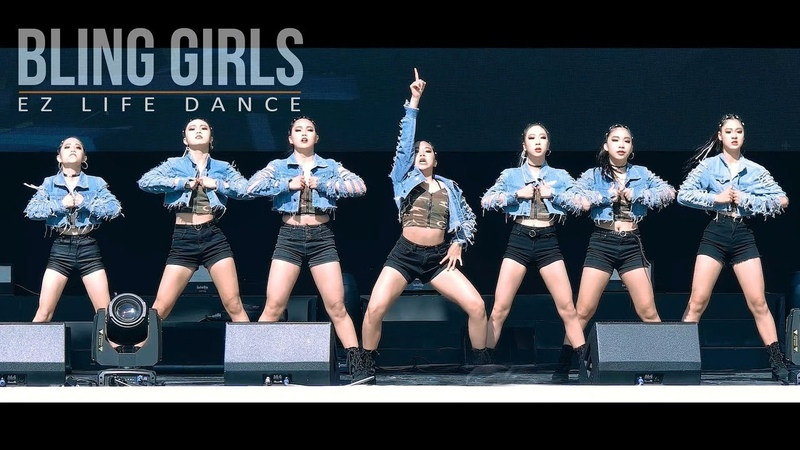 블링걸즈 BLING GIRLS 중학생 칼군무 새안무 추가 은상 TEEN's PERFECT POWERFUL DANCE Filmed by lEtudel