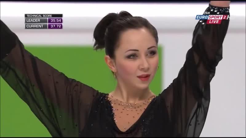 Елизавета Туктамышева - короткая программа. Чемпионат Европы 2015