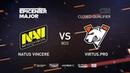 Natus Vincere vs Virtus.pro, EPICENTER Major 2019 CIS Closed Quals , bo3, game 3 [Adekvat Smile]