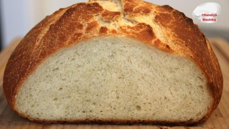 Хлеб на КЕФИРЕ ЗА 5 МИНУТ в день.Вы будете в шоке насколько это легко ! Результат ПОТРЯСАЮЩИЙ!