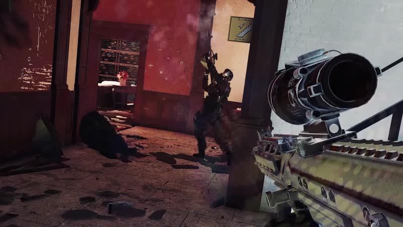 Смешной момент в Rainbow Six Siege Денис Карамышев Выскочил из чулана