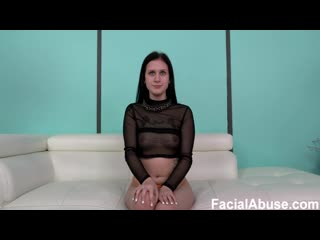 Facial Abuse / Face Fucking - Amateur Slut Is Pissed On, Anally Smashed & Throat Fucked