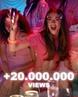 """TINI on Instagram: """"Queeeeee!!?? #22 LLEGO A 20 MILLONES DE VISITAAAAS❤️❤️❤️ gracias por acompañar de estar forma a la canción🙏🏻 los quiero demasia..."""