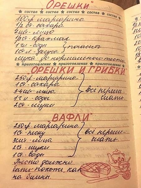 Мама подарила книгу для записи рецептов, когда мне было 17 лет. Храню как память А у вас была книга с рецептами Напишите в