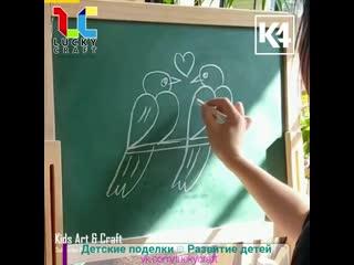 Рисунки на школьной доске @luckycraft  подпишись!