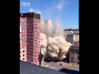 MR.B demolition of a building