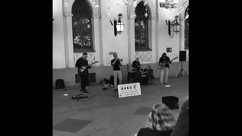 Уличные музыканты в Москве