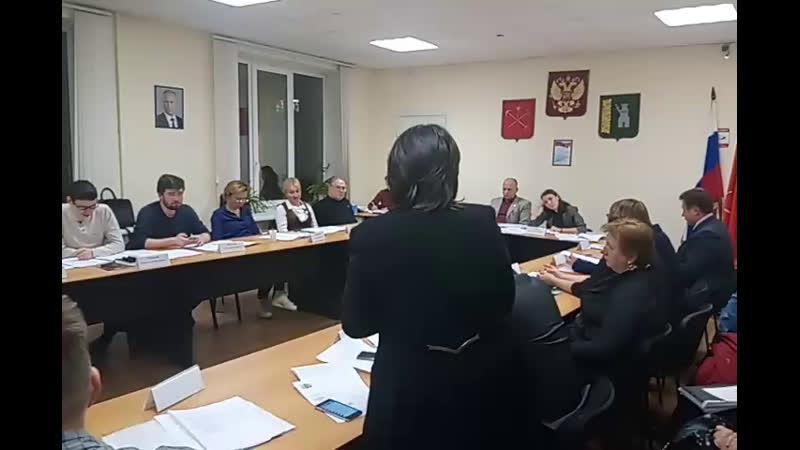 совет Светлановское вопрос о комиссиях