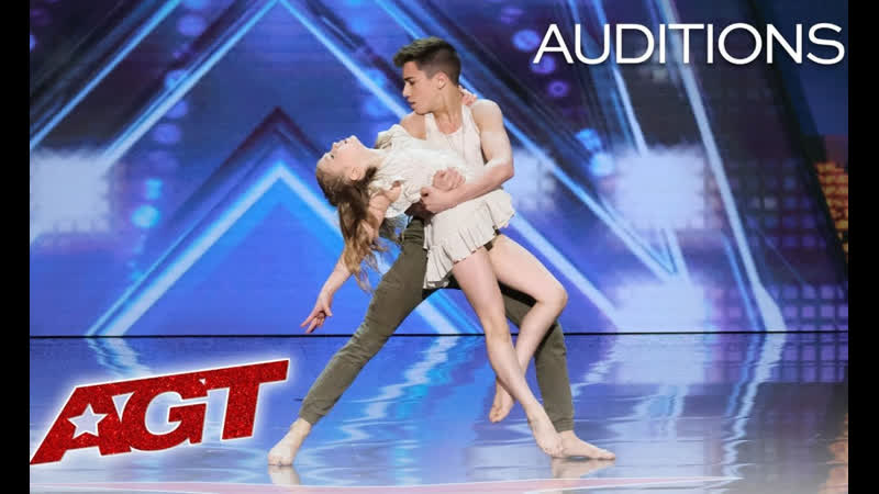Kid Dancers Izzy and Easton Dazzle With Contemporary Dance - America`s Got Talent 2019