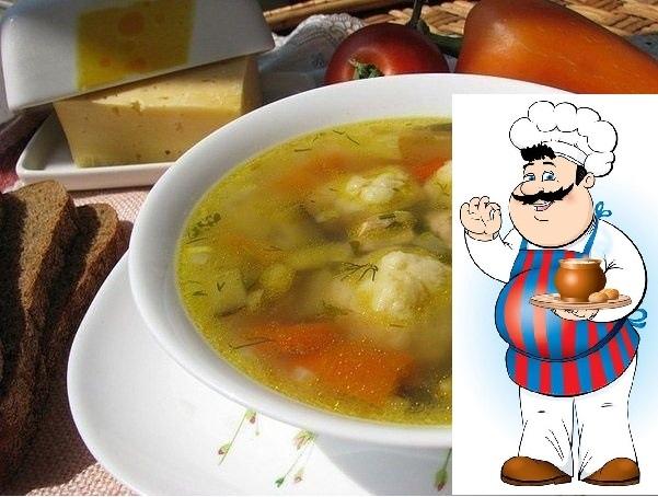 Сырные шарики. Быстрый болгарский суп. Волшебный суп - по временным затратам он приравнивается к экспресс-классу, по калорийности - истинно друг наших талий, а по вкусу - ну здесь еще все более