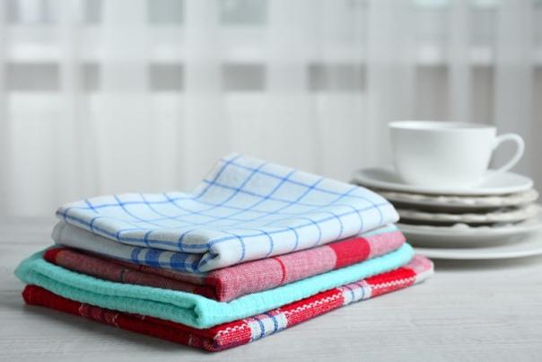Как стирать кухонные полотенца и что будет, если этого не делать