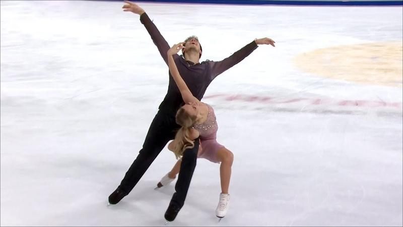Российские фигуристы Виктория Синицина и Никита Кацалапов выиграли этап Гран-при в Китае.