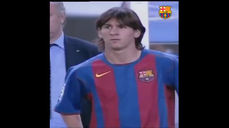 «Барселона» напомнила о дебюте Месси 15 лет назад