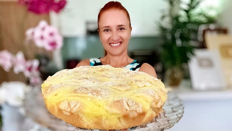 ТАЮЩИЙ ПИРОГ с заварным кремом Быстро и очень вкусно Люда Изи Кук пирог дома Custard Cream Pie